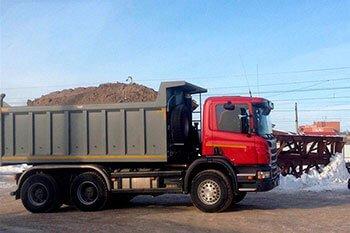 Поставка гранитного щебня с доставкой 2000 м3