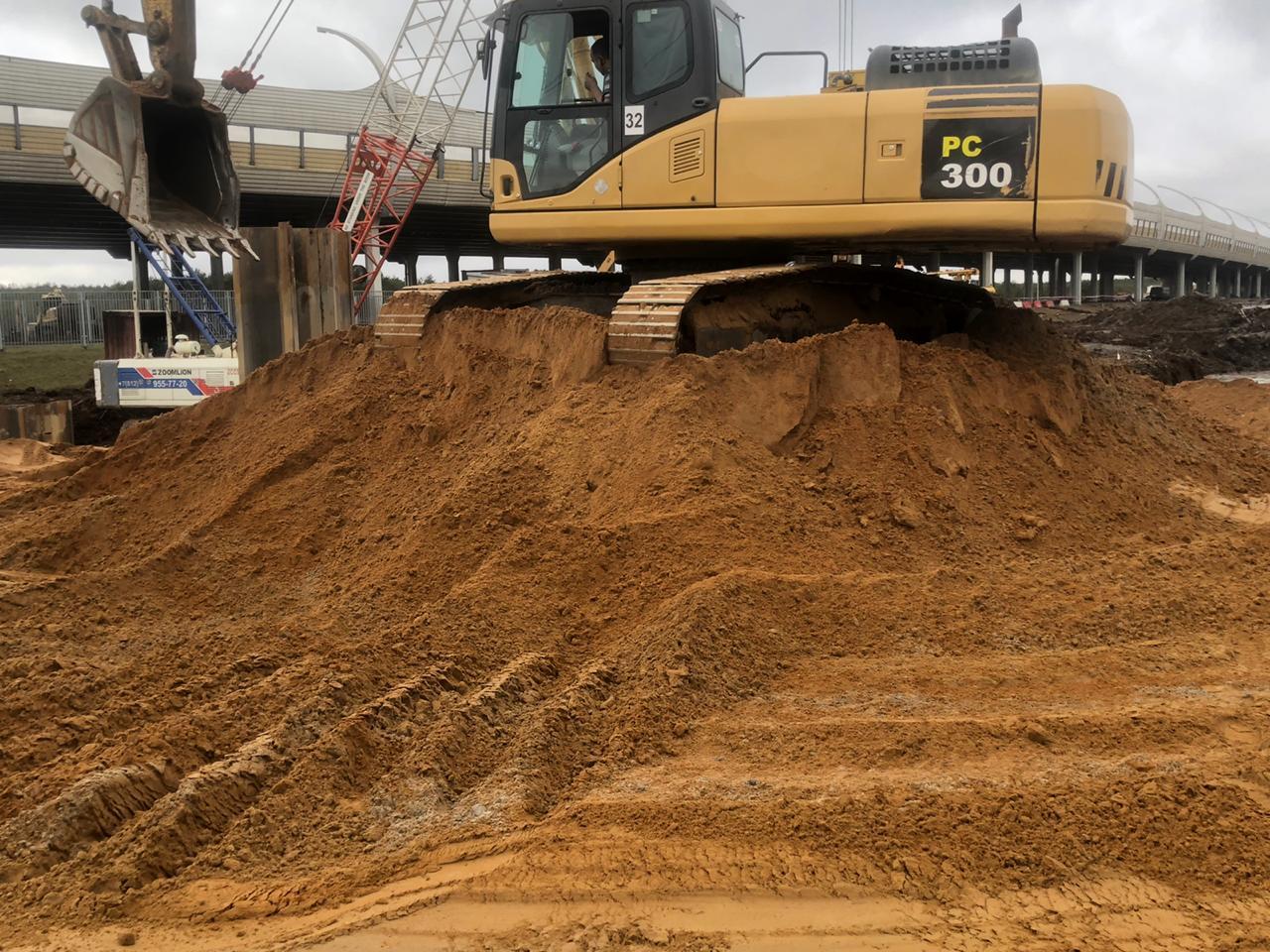 Компания ОСК завершила поставки песка для строительства съезда ЗСД