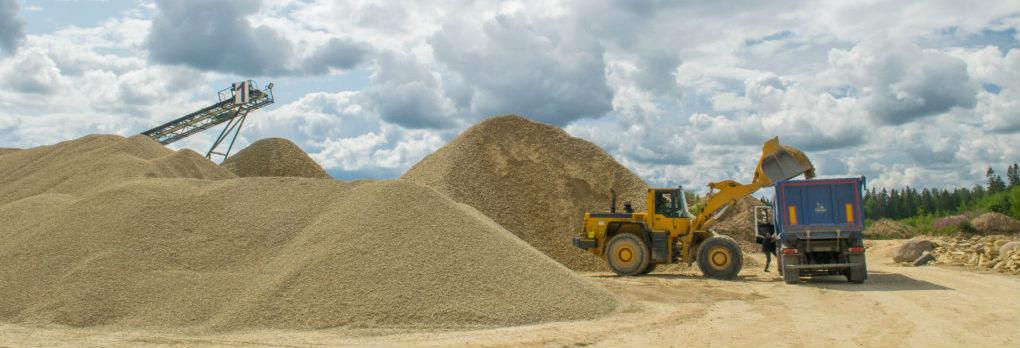 Песок скарьеров Санкт-Петербурга и области предлагает компания ОСК